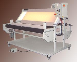 revisadeira de tecidos com plataforma