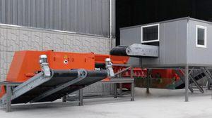 máquina classificadora magnética