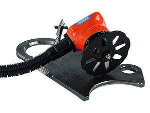 chanfradeira-rebarbadora pneumática / portátil / de contorno / raio de fresagem