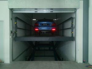 plataforma para estacionamento multinível