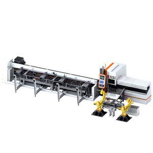 linha de corte a laser de fibra