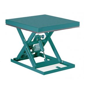 mesa elevatória tipo tesoura