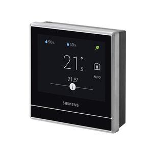 termóstato ambiente / de parede / sem fio / IP30