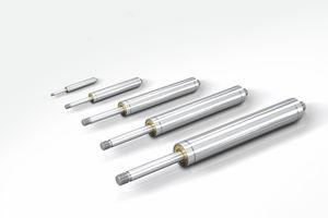mola a gás em compressão / em aço inoxidável / para uso industrial