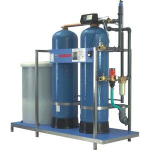 unidade de purificação de água com trocador iônico
