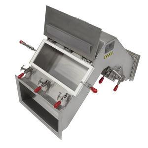 separador magnético com placas