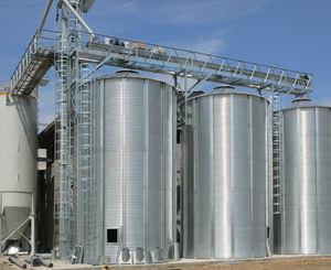 silo em aço galvanizado