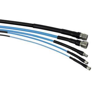 cabo montado coaxial
