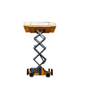 plataforma elevatória tipo tesoura com rodas