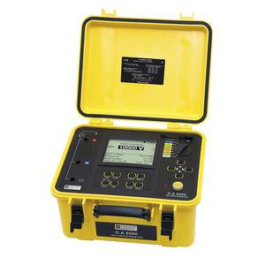 testador de isolamento / de tensão / de resistência / digital
