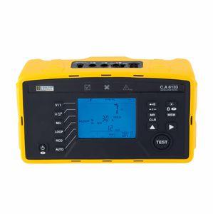 testador de instalação elétrica / compacto / com tela LCD