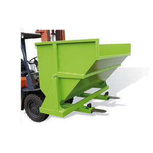 caçamba autobasculante para resíduos
