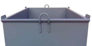 caixa para argamassa metálica