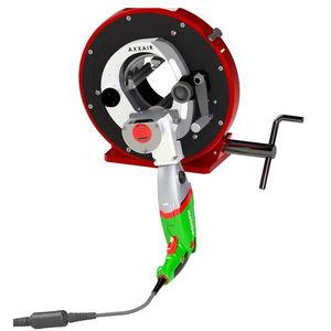 cortador de tubos em aço inoxidável / orbital / de mão / elétrico
