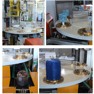 máquina de aquecimento por indução de estatores