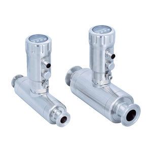 medidor de vazão ultrassônico / para água / para óleo / compacto