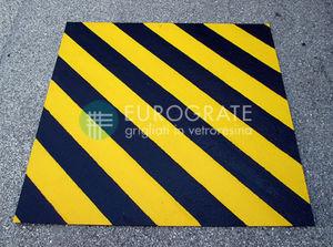 placa de piso em GRP