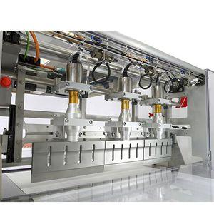 máquina de corte com guilhotina