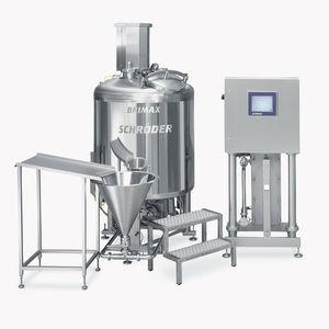agitador dinâmico / de batelada / de líquido-sólido / para água glicolada