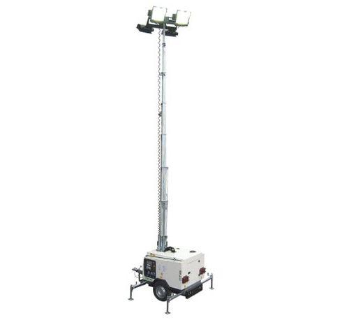 torre de iluminação para lâmpada de iodetos metálicos