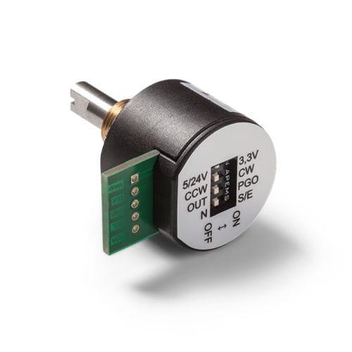 encoder rotativo absoluto / de efeito Hall / com saída analógica / monovolta