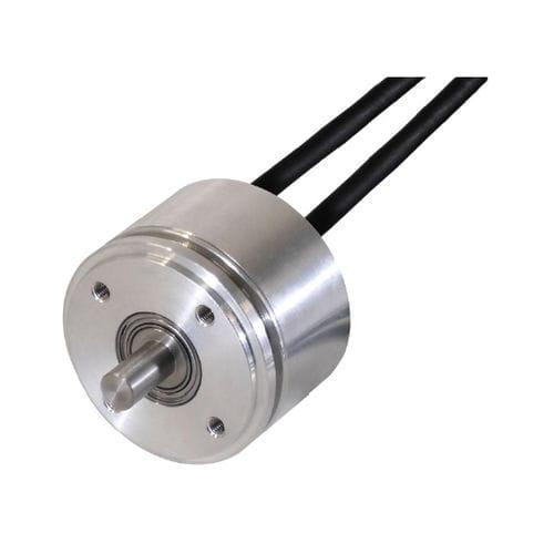 encoder rotativo absoluto / com interface SSI / de eixo maciço / monovolta