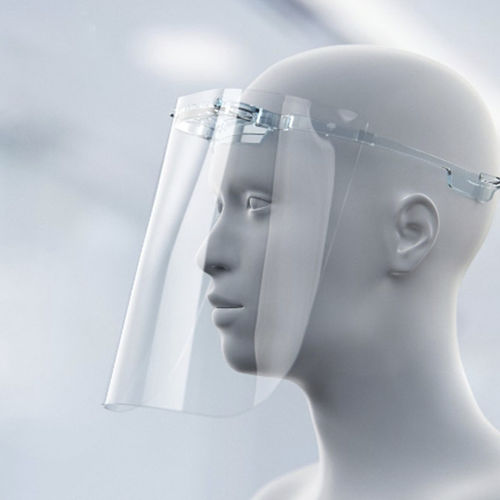 protetor facial reutilizável