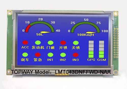 módulo de visualização TFT