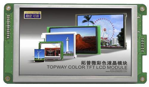 módulo de visualização LCD/TFT