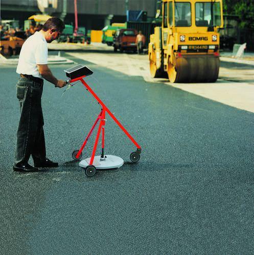 medidor de espessura de estrada