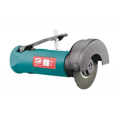 esmerilhadeira de corte de mão / pneumática / reta / escape dianteiro
