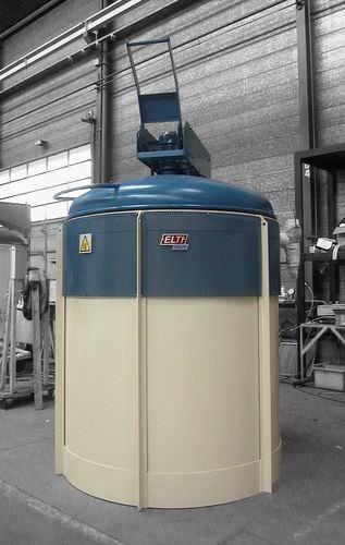 forno de nitruração