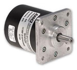 encoder rotativo absoluto / analógico / com flange quadrada / monovolta