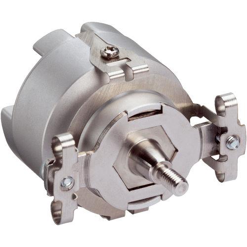 encoder rotativo para feedback motor / incremental / de eixo maciço / monovolta