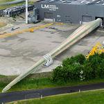 pá para turbina eólica