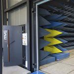 sistema de portas de correr / para ambiente interno / de acesso / automático
