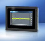 terminal com tela sensível ao toque / embutido / para montagem em veículo / 480 x 272