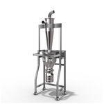 separador vertical / de alto rendimento / sem filtro