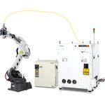 robô de soldagem por pontos / de soldagem por arco / de soldagem a laser / compacto