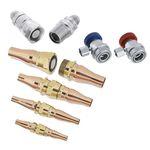 conexão luva em latão / para instalações de aquecimento, ventilação e ar condicionado / para circuito frigorífico / para ar condicionado