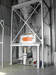 sistema de aproveitamento de resíduos de massas com alimentação automática