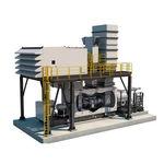turbina a gás / de dois veios / para produção de eletricidade / para aplicações de acionamento mecânico