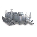 linha de produção de queijos automática