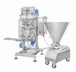 máquina de produção de massas recheadas