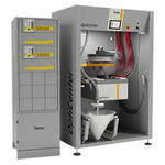 máquina de revestimento em pó automática