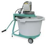 agitador de pás / de batelada / para sólidos / para concreto