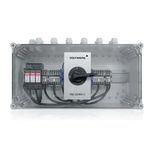 interruptor-seccionador rotativo / para aplicações fotovoltaicas / CC / para inversor solar