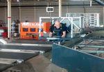máquina classificadora de tapete transversal