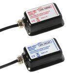 sensor acústico de monitoramento / de frequência