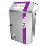 máquina de marcação de caracteres pequenos / a jato de tinta / de bancada / automática